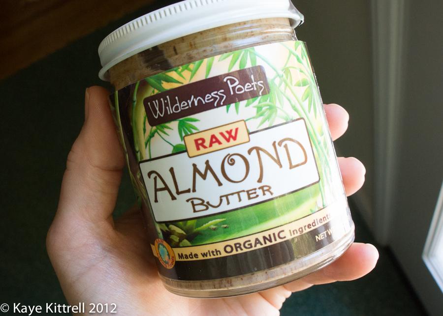 Raw Almond Nut Butter!