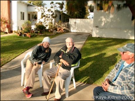 Werner Gerber, CL Hagar, Kaye Kittrell, Pacific Palisades, CA 2006