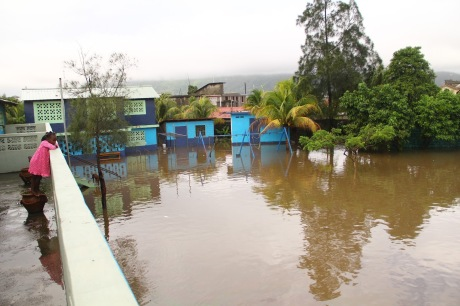 Flood at Cap Haitien Children's Home