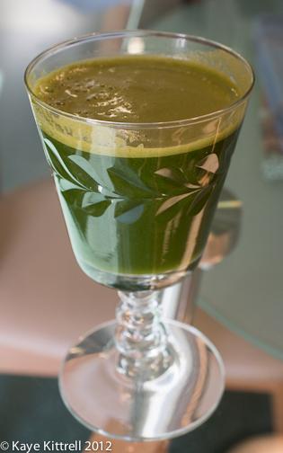 Green Vegetable Juice by Kaye Kittrell 2012