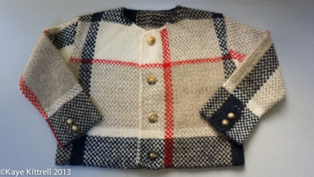 Hand Knit Sweater by Kaye Kittrell